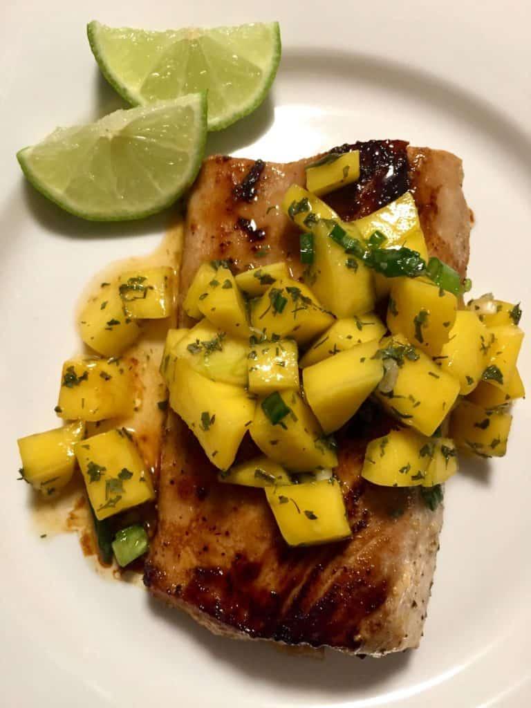 Chili Lime Mahi Mahi with Mango Salsa